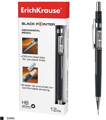 Карандаш механический 0.5мм BLACK POINTER 22005 на Маркете VSE42.RU