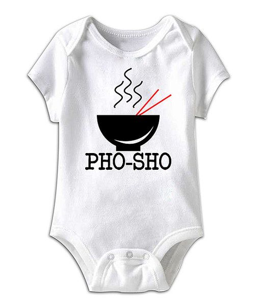 Little ones don't have to master the art of speech to show off their comedy chops when they're rocking this hilarious baby basic. Like any good punch line, changing is quick and effortless thanks to the handy lap neck and snaps on bottom. 100% cottonMachine wash; tumble dryImported