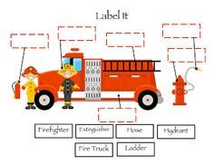 preschool crafts for fire safety week | Preschool Printables: Fire Safety (TONS of activities)