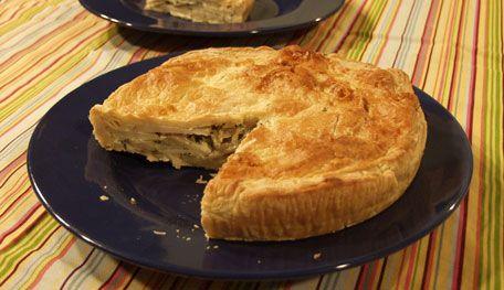 Potato and Leek Tart from P. Allen Smith: Food Recipes, Leek Tart Looks, Savory Pies, Pie Pi, Recipe Addiction Call, Recipes I D, Favorite Recipes, Salad Sides Pasta