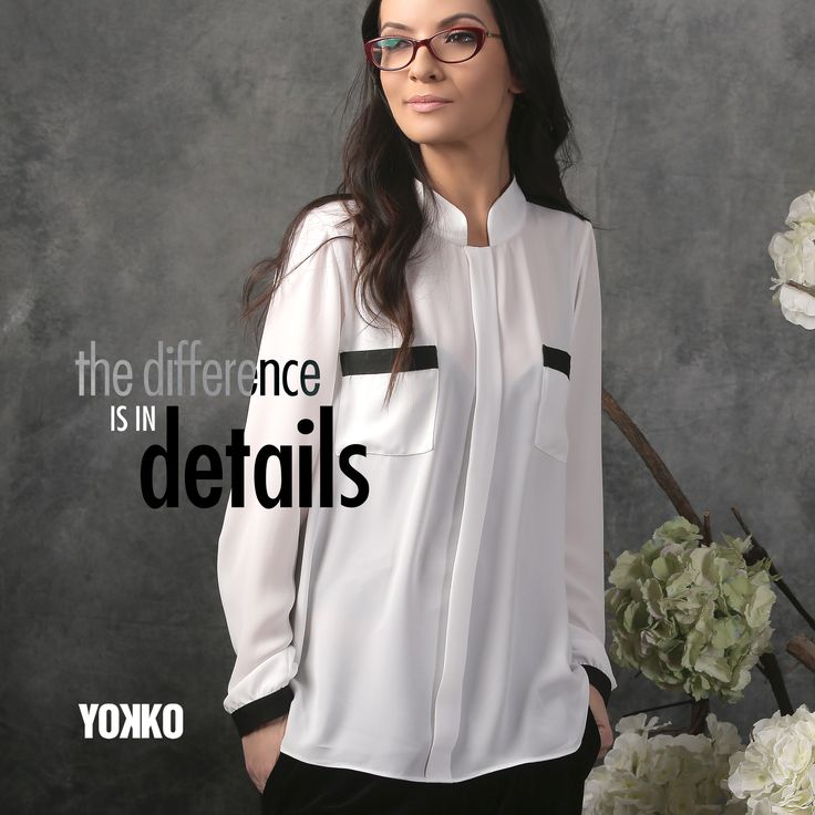 Beautiful details, beautiful tops YOKKO | spring17 #blouse #newcollection #fashion #spring #women #style #yokko