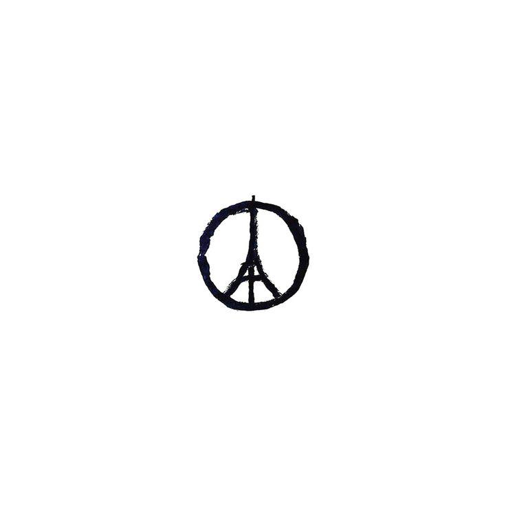 Pray For Paris Terror Rip iPad Air wallpaper