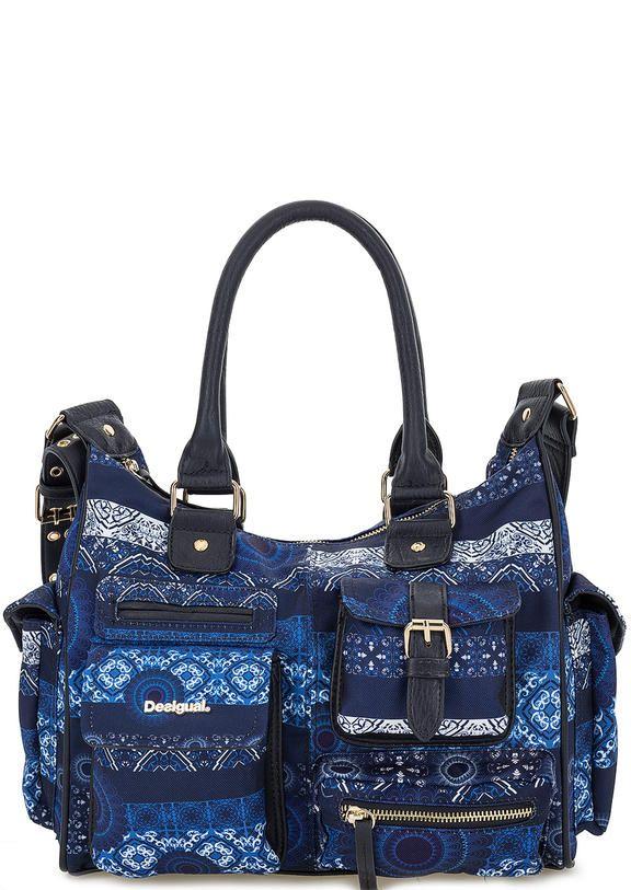 Текстильная сумка на молнии с карманами 72X9EC4/5001 застегивается на молнию, купить в интернет-магазине. Цена: 3295