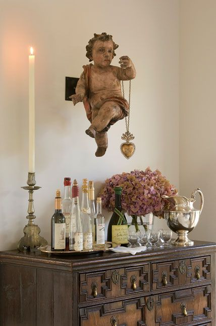 Interior Design by Peter Vitale  I think this is the most gorgeous vignette I've ever seen...
