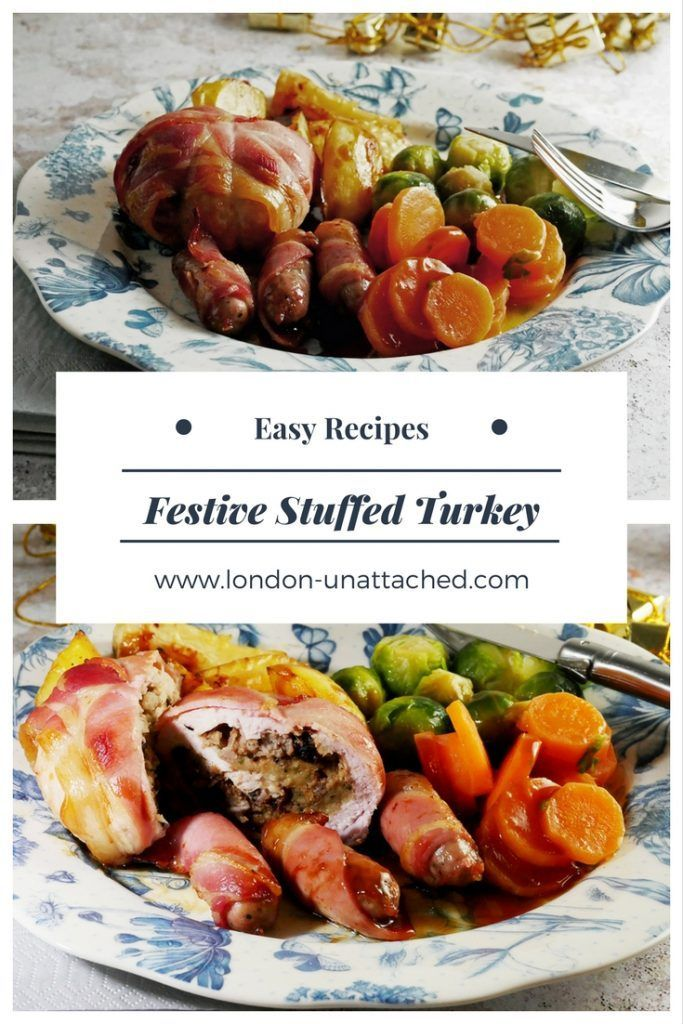 Stuffed Turkey Recipe _ Individual turkey escalopes _ Easy Festive Turkey Recipe _ Classic Festive Turkey Recipe _ Christmas Lunch Two People _ Easy Christmas Lunch Recipe