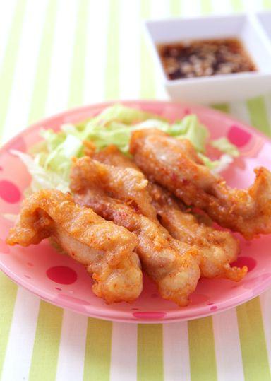 油淋鶏(ユーリンチー) のレシピ・作り方 │ABCクッキングスタジオのレシピ | 料理教室・スクールならABCクッキングスタジオ