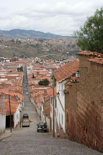 UNESCO World Heritage Site.                                The historic city of Sucre, BOLIVIA