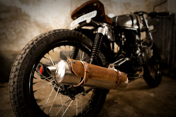 leather exhaust