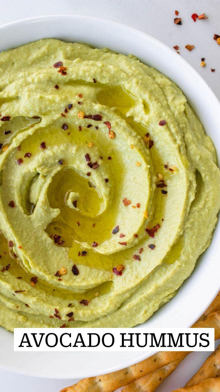 Yummy Healthy Snacks, Yummy Food, Healthy Recipes, Healthy Hummus Recipe, Healthy Food, Homemade Hummus, Avocado Hummus, Hummus Dip, Chickpea Hummus