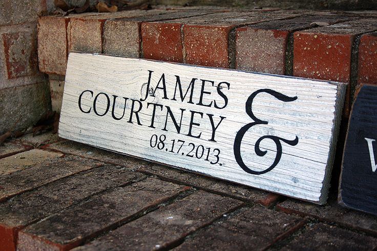 Happy Wedding Day!  - Wedding Sign - SignsByAndrea -  signsbyandrea.com...