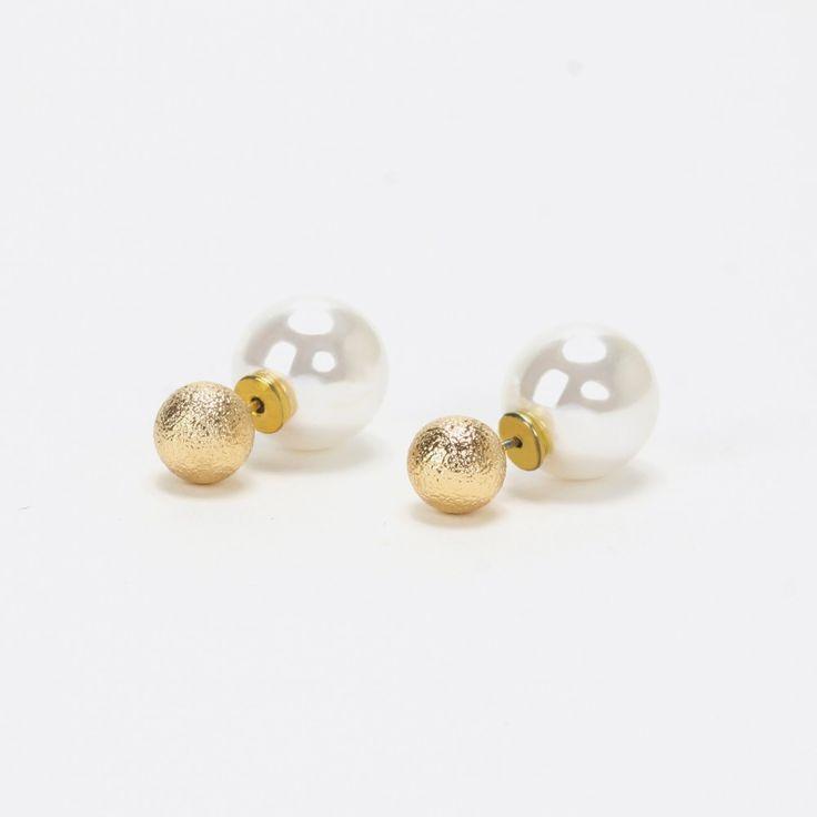 Boucles d'oreilles asymétriques