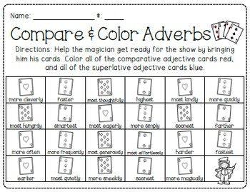 Abracadabra Adverbs Pack