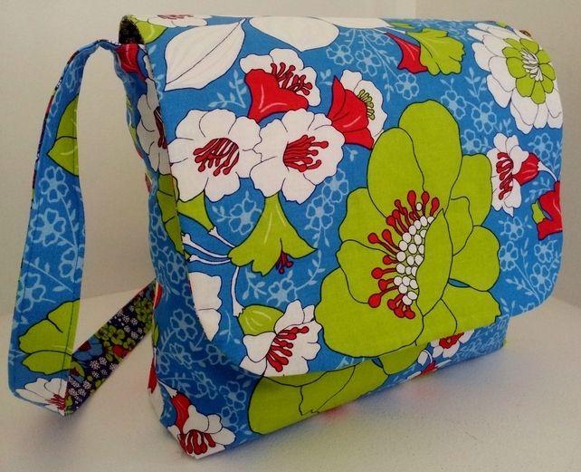 Floral Messenger Bag  £18.00