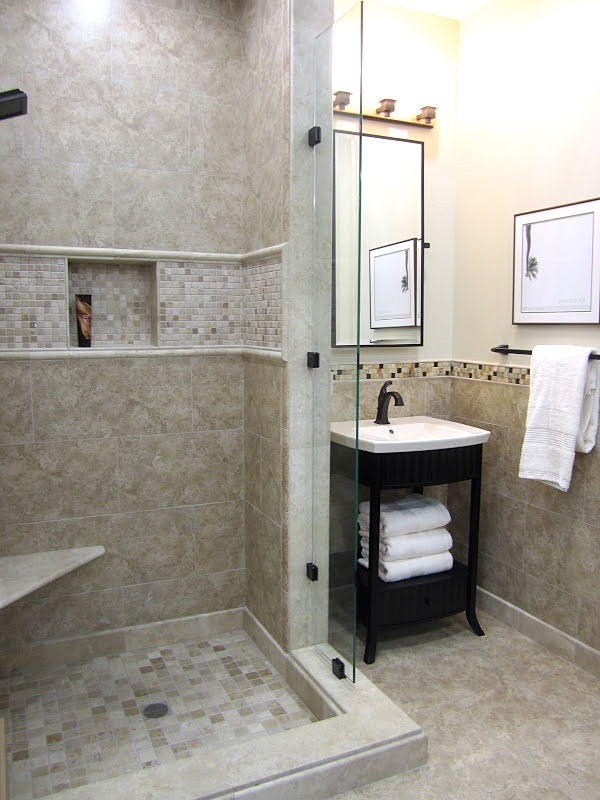 Ceramic And Stone Mixed Bathroom Make The Best Of Your