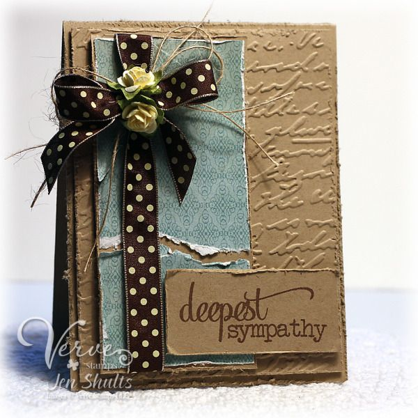 Deepest Sympathy by deconstructingjen - Cards and Paper Crafts at Splitcoaststampers