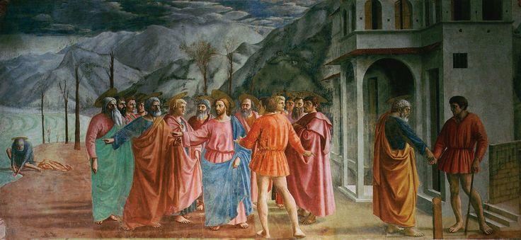 Masaccio: Il pagamento del tributo