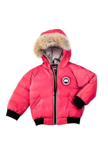 3129c7772 Canada Goose Reese Bomber Sunset Pink Baby s Online