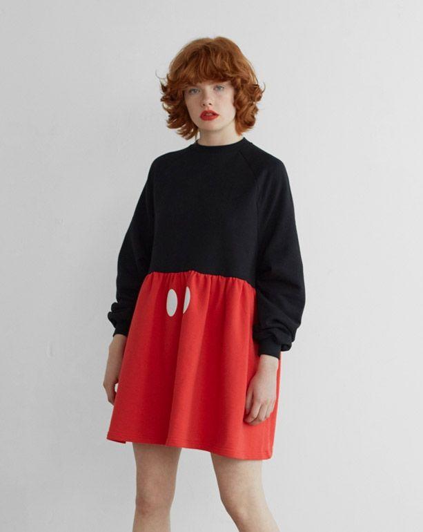 Disney x Lazy Oaf Mickey Mouse Sweater Dress http://spotpopfashion.com/j61v