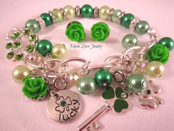 213 best st patricks day jewelry images on Pinterest | Bead ...
