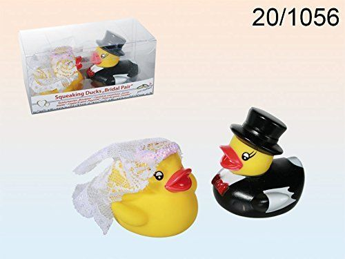 Rubber duck with Bride and Groom