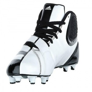 SALE - Mens Adidas Malice Fly Football Cleats White Synthetic - Was $89.99 - SAVE $23.00. BUY Now - ONLY $66.97