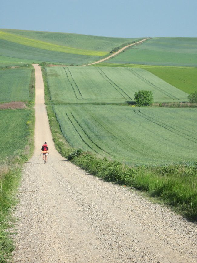 Running nearly the length of northern Spain, this trail winds its way through villages and rolling Spanish countryside.