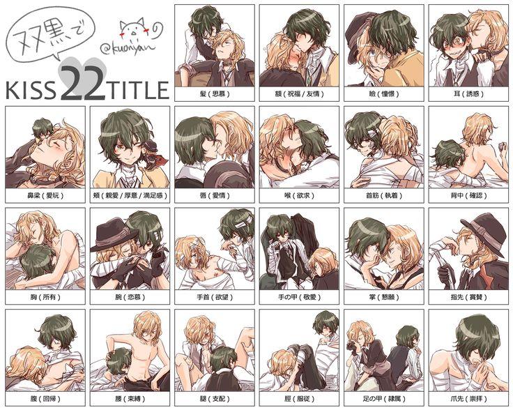双黒でキス22のお題 [1] Soukoku