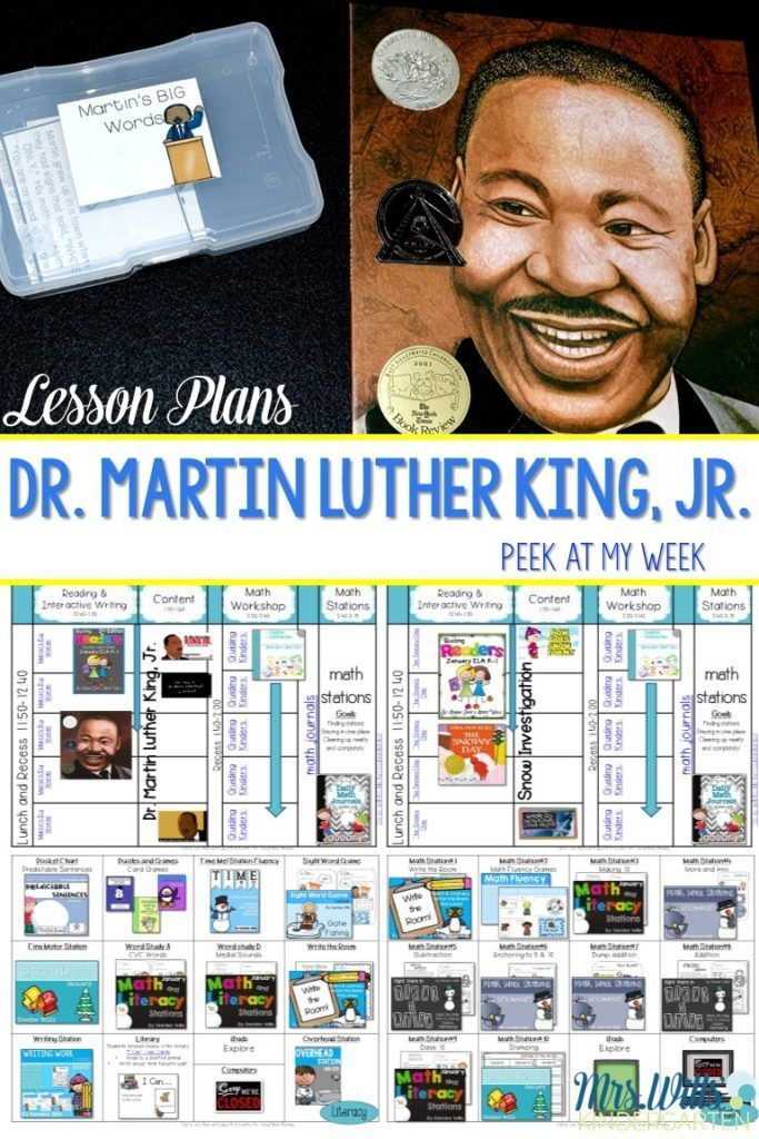 dr. king writing activities