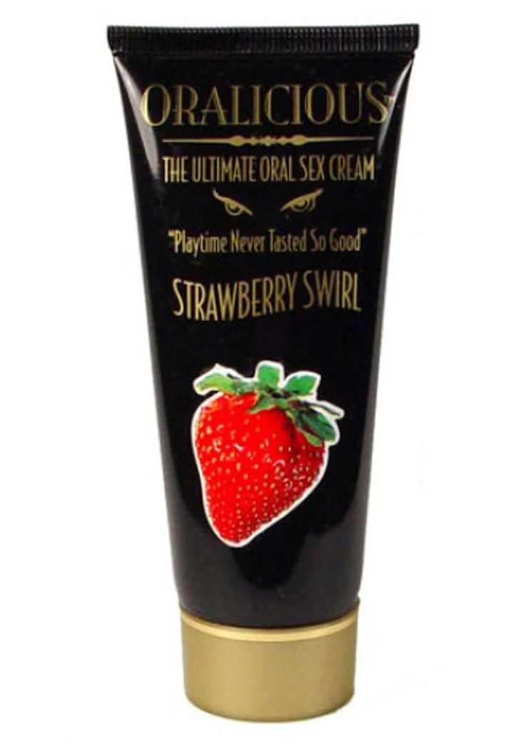 Buy Oralicious Ultimate Oral Sex Cream 2 Ounce Strawberry Swirl online cheap. SALE! $8.99