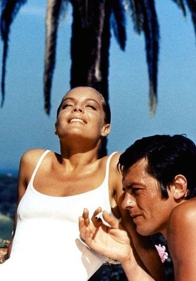 1000 images about alain delon romy schneider on pinterest for Alain delon la piscine