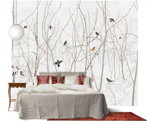 Pattern Jay - Wall Mural & Photo Wallpaper - Photowall Scandinavian Surface
