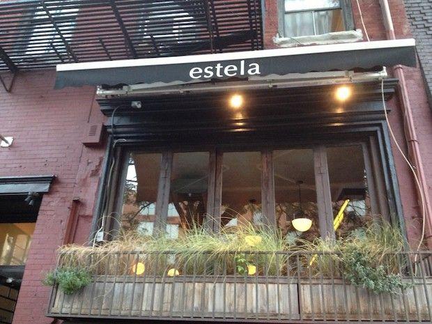 The Brunch Scene Is Hot At estela Restaurant | New York City