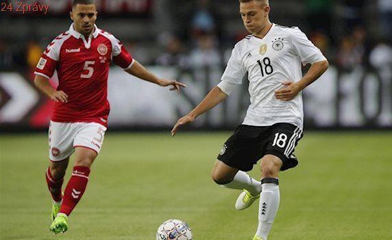 Přípravy: Německo remizovalo s Dánskem, Malta zaskočila Ukrajinu
