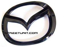"""#BlackOut """" #FlyingM """" Front #Emblem: #Mazda3"""