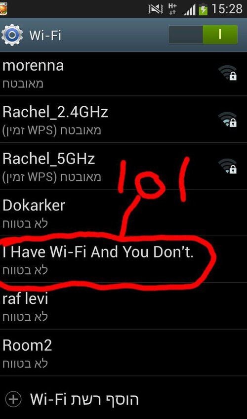 Image via We Heart It #funny #internet #lol #wi-fi