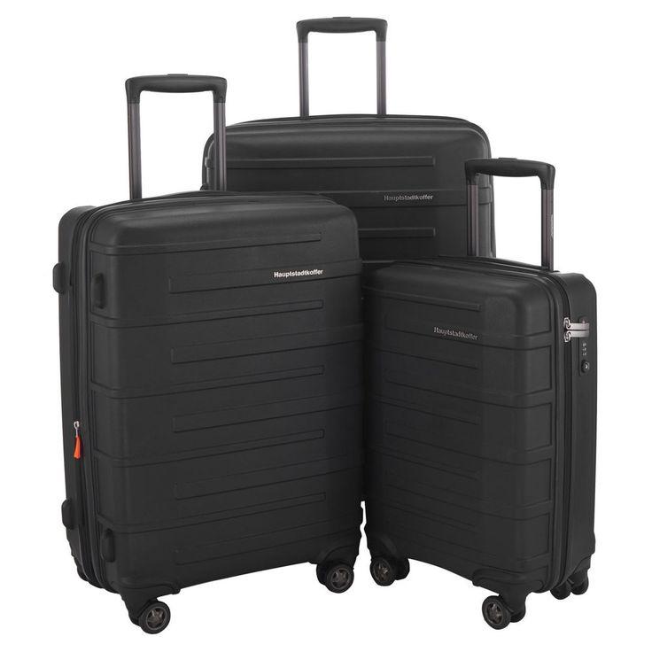 "HAUPTSTADTKOFFER Ost 20""24""28"" Luggage Suitcase Set Travel Bag TSA Trolley Black | Travel, Luggage | eBay!"