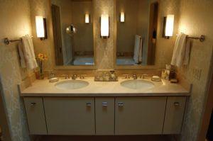 Bathroom Mirrors Over Double Sink Vanity