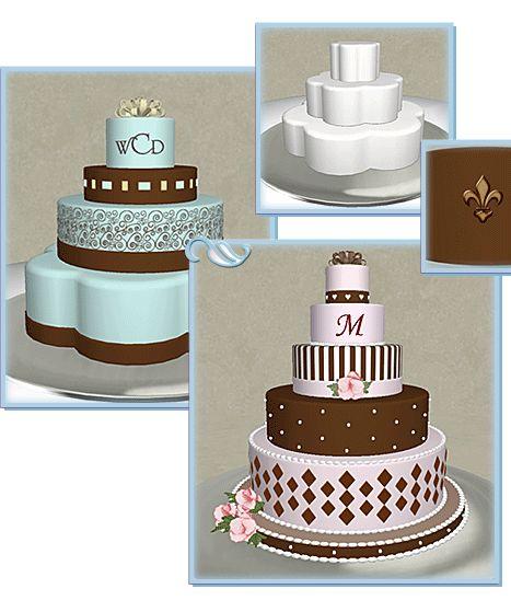 Design Your Own Engagement Cake : Unique Designer Wedding Cakes Wedding Cake Design ...