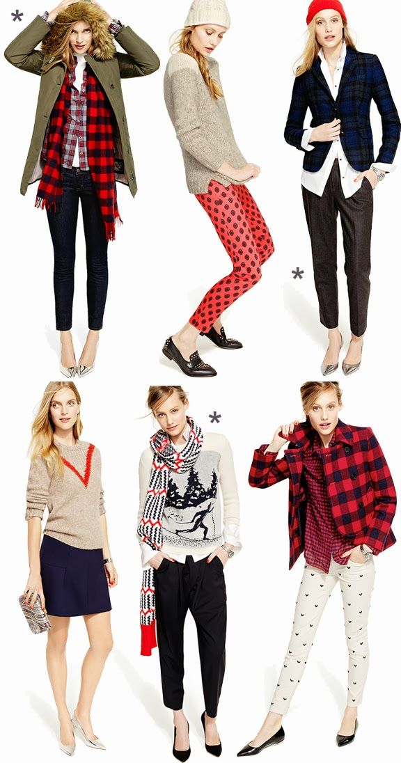 Über Chic for Cheap: Inspired: J.Crew Looks We Love {November}....Also, some cheaper alternatives to help make these outfits a reality.