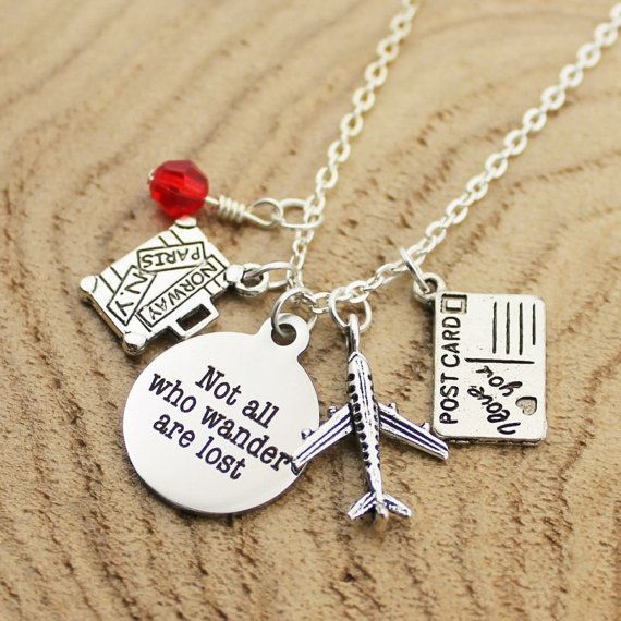 Not All Who Wander Are Lost Custom Bead & by RootedInLoveCustom