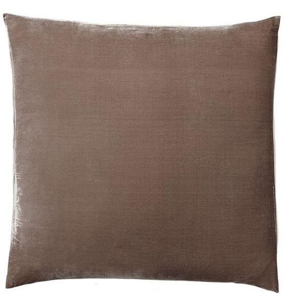 Pottery Barn Gigi Velvet Sham ($55) ❤ liked on Polyvore featuring home, bed & bath, bedding, bed accessories, pottery barn bedding, pottery barn, patterned duvet, velvet duvet and pottery barn duvet