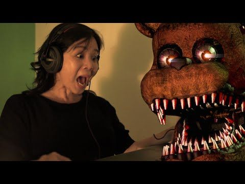 REAKSI MAIN GAME HOROR (Five Night At Freddy's 4) with KEVIN ANGGARA