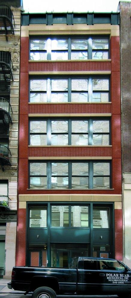 58 Thomas Street - A project by Arpad Baksa Architect, P.C.