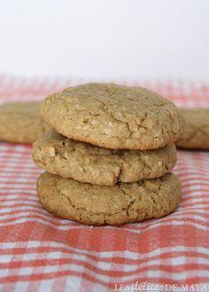 Les délices de Maya: Biscuits à l'avoine et à la noix de coco