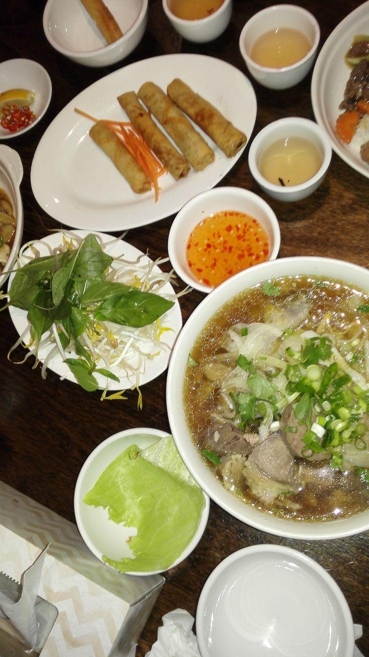Dinner at Vietnamese_Chinese Restaurant Footscray