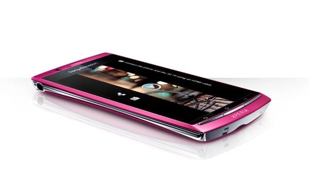 Xperia Arc S sakura pink