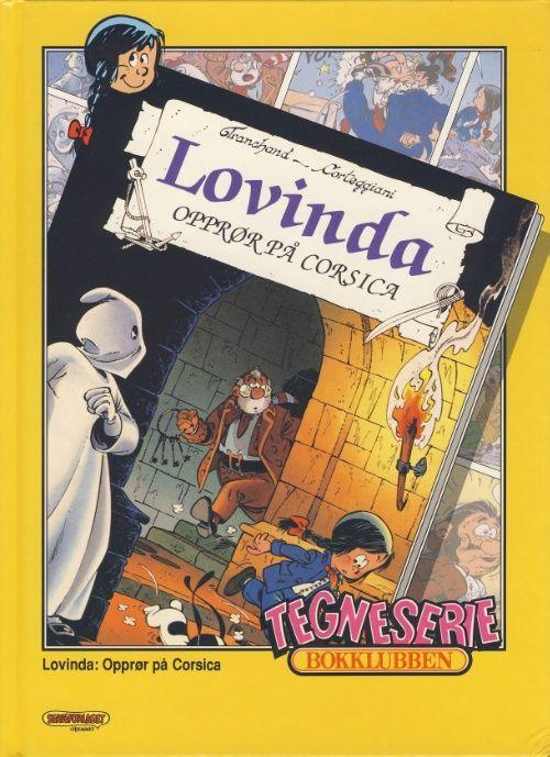 """""""Lovinda ; Opprør på Corsica ; Langbein album. Nr. 2 : Langbein Columbus"""" av Pierre Tranchand"""