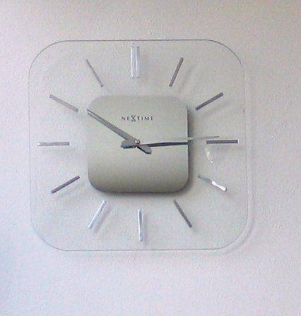 Designové nástenné hodiny  Nextime Liberty 35x35cm