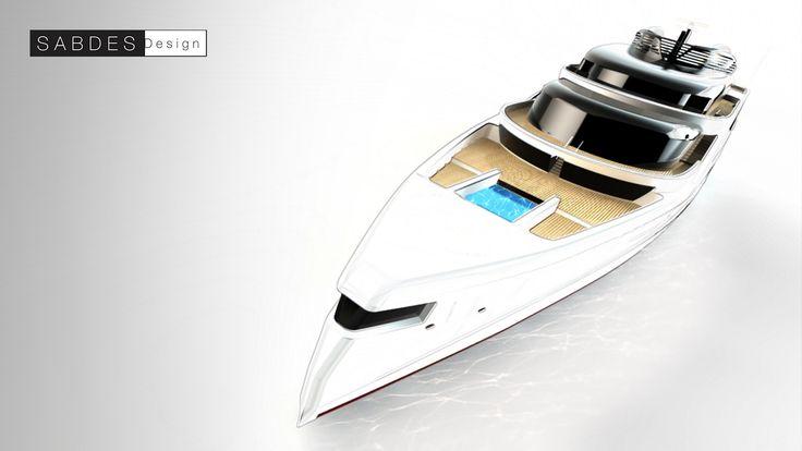 475ft - SABDES Design & ThirtyC #superyacht #yacht #design #megayacht #luxury #yachtdesign #ocean www.thirtyc.com