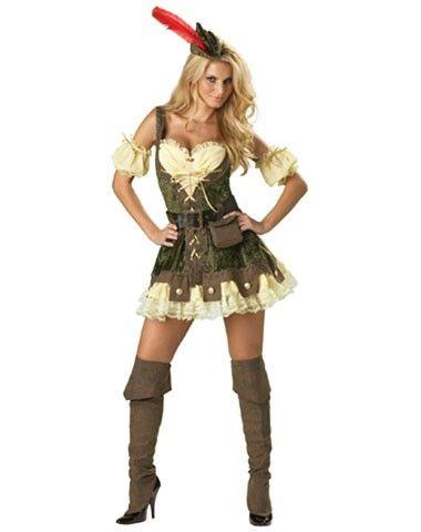 Theatrical Quality Racy Robin Hood Women's Costume